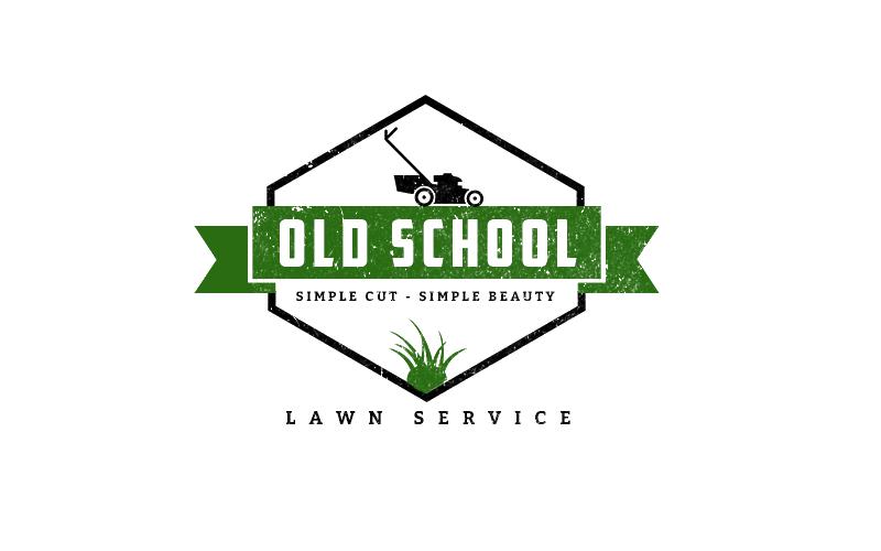 old-school-lawn-service-logo