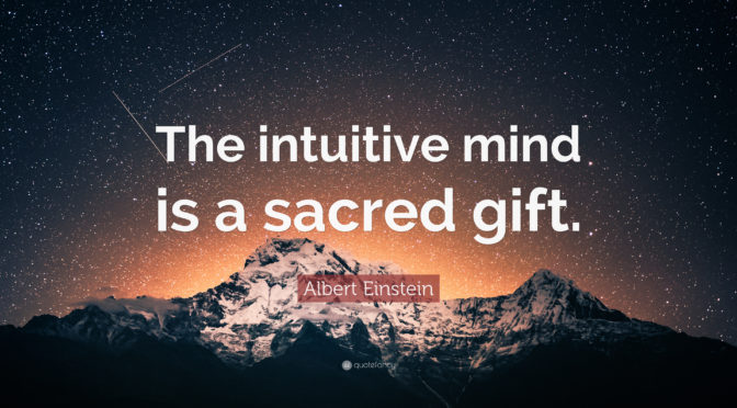A Gift For The Intuitive Mind